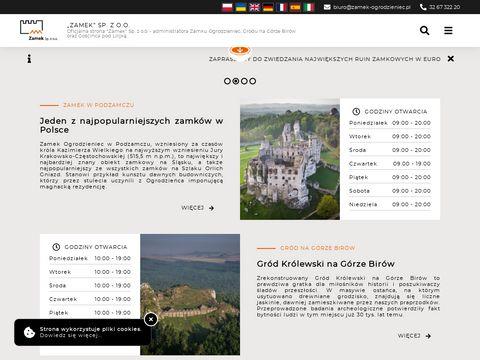 Zamek sp. z o. o. imprezy dla firm Ogrodzieniec