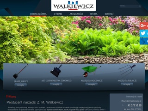 W. Walkiewicz producent taczek