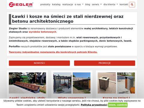 Ziegler Studio zadaszenia rowerowe
