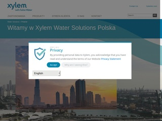 Xylem Water Solutions Polska