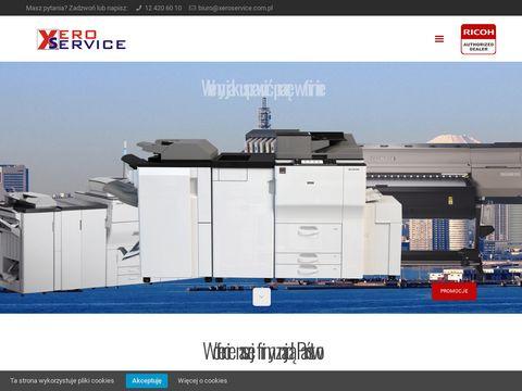 Xeroservice.com.pl drukarki kserokopiarki wynajem