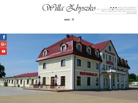 Willa-zbyszko.pl sala weselna Nowogard