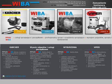 WIBA usługi sprzątające