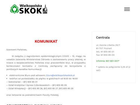 Wielkopolskaskok.pl usługi finansowe