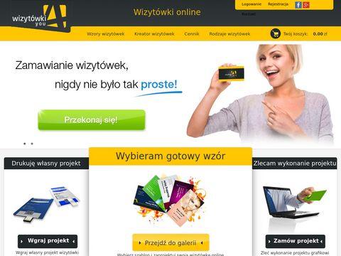 Wzory wizytówek wizytowki4you.pl