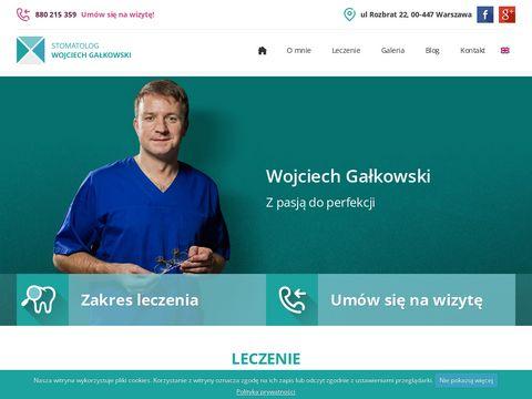 Wojciech Gałkowski implanty Warszawa