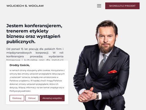 Wojciechswoclaw.pl - prowadzenie imprez