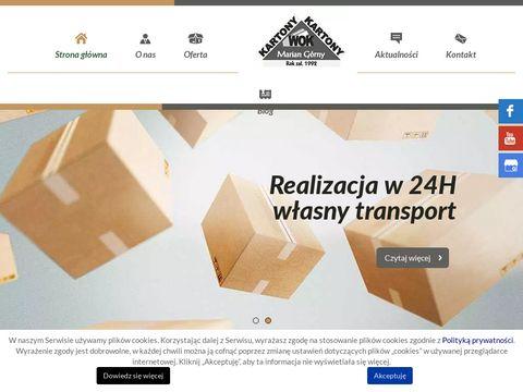 Wok-kartony.pl Wytwórnia Opakowań Kartonowych