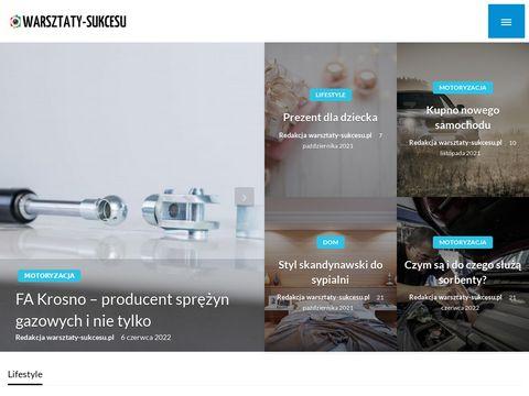 Warsztaty-sukcesu.pl urodziny Kraków