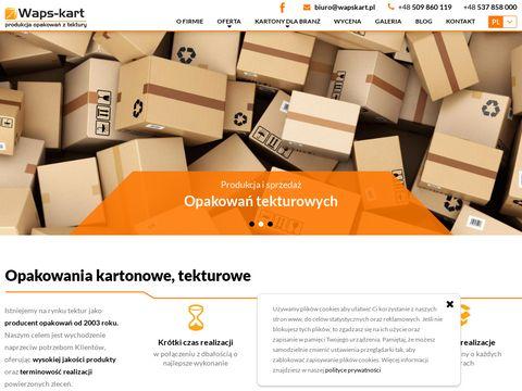 Waps-kart.pl opakowania kartonowe i pudła na zamówienie