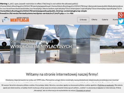 Wentylacjapawlica.pl