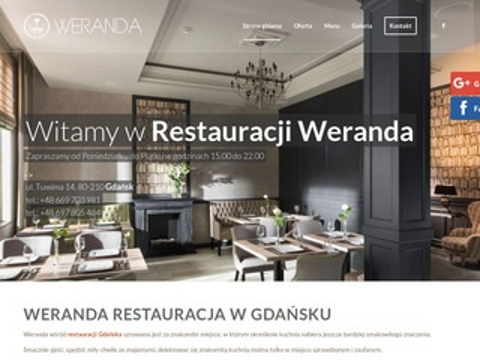 Werandarestauracja.pl Gdańsk