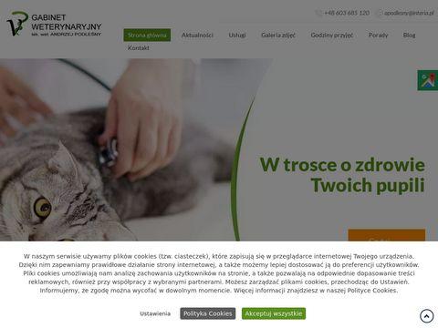 Andrzej Podleśny lekarz weterynarii Mirów