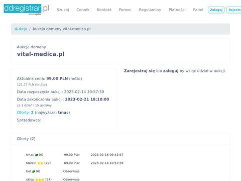 VITAL MEDICA Usługi medyczne