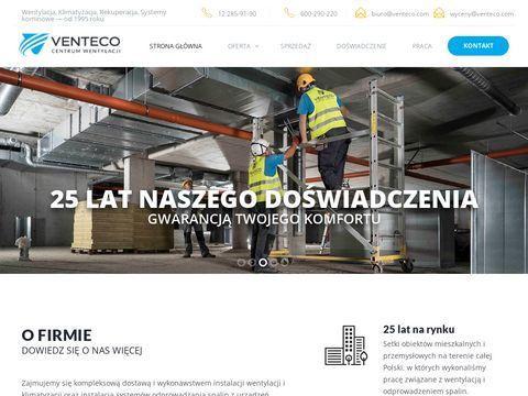 Venteco.com systemy kominowe